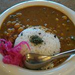 60606636 - オクラと豆のカレーライス