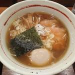 麺屋 えぐち - 中華そば700円+味付けたまご100円
