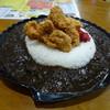喫茶解放区 - 料理写真:チキンカツカレー