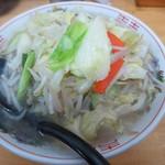 60621778 - タンメン@700円(税込み)                       野菜多めで発注したが、きっと普通盛りだね