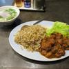 台北飯店 - 料理写真:激辛!!牛スジカレーチャーハン