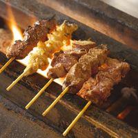 テング酒場 - 炭火焼き 炭火でじっくり焼いた串焼き
