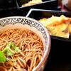 本陣房 - 料理写真:海老&野菜天そば