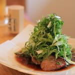 横濱蕎麦 傳介 - 料理写真:本日のBEST 鴨焼き焦がし九条ネギ