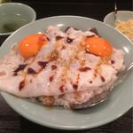 美味 - ぼっかけ玉子飯600円