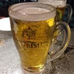 てっちゃん - 2016.12.24  エビス生ビール