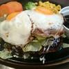 洋食 だんらんや - 料理写真:テリ玉ハンバーグランチ(税込み1,380円)