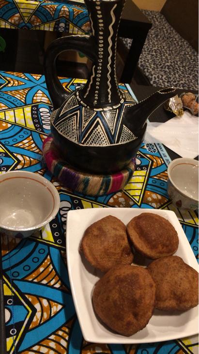 アフリカの家庭料理 シダモ