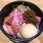 60643361 - プライム豚ロースご飯٩( 'ω、' )/¥350円