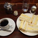 スメル - サンドイッチセット(タマゴ)