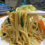 尚チャンラーメン - 野菜炒め+麺の王道中華焼きそば