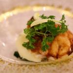 サヴール - 真鱈の白子のムニエル