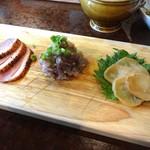 クラフトビアバル IBREW WIRED - 本日の前菜三種盛りです
