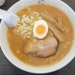 月見軒 - 料理写真:味噌ラーメン(大盛)