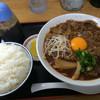 中華そば 春陽軒 - 料理写真:中華そば:肉玉入 [大] + 白ごはん