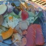 バーベキューガーデン - 肉海鮮盛り合わせ