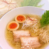 塩ラーメン スター&プラチナ - 料理写真: