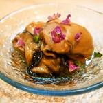 松寿司 - 牡蠣 漬け