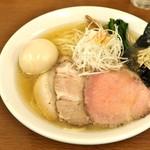麺処 有彩 - '16.12特製魚介鶏だし塩