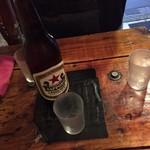大阪焼トンセンター - 瓶ビールでイキましょ!!