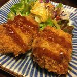 司 - 鰹コロッケ:600円
