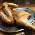 60704603 - なると本店(北海道小樽市稲穂)若鶏半身揚げ 980円