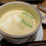 別邸 竹の庵 - アボガドとクリームチーズの茶碗蒸し