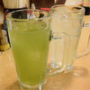 大都会 - ドリンク写真:緑茶ハイ&レモンサワー