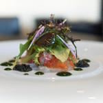 東洋軒 - 料理写真:前菜:真鯛のカルパッチョ キャビア添え