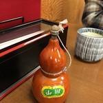 ひさご - 親子丼にかける山椒