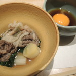 纐纈 - ツキノワグマのすき焼き