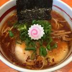 明石塩元帥 - 料理写真:醤油ラーメン(700円)