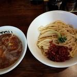 60732280 - 【2017/1】辛つけ麺+味玉