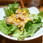 新 -ARATA- - ランチセットのツナサラダ