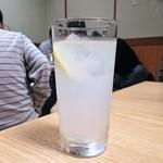 神戸ちゃんこ部屋 - チューハイレモン