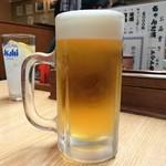 神戸ちゃんこ部屋 - 生ビール
