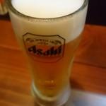 魚菜串 いちころ - 生ビール