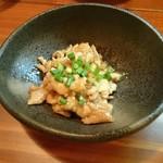 魚菜串 いちころ - とり皮ポン酢
