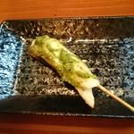 魚菜串 いちころ - スズキのバジル串