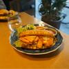 15℃ - 料理写真:トリッパのトマト煮サンド