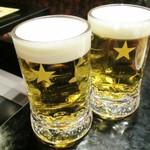 バーン・キラオ - 生ビールx2