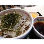 らあ麺ダイニング 為セバ成ル。カケル - 元祖牛肉そばつけ麺 780円