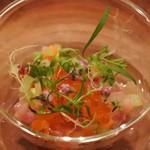 アノニム - 天然のぶりと野菜のタルタル