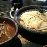 60768923 - 牛と土ゴボウのつけ麺