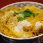 金城庵 - かつ丼