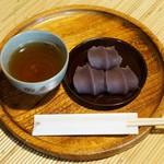 Akafuku - 料理写真:赤福餅 盆