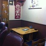 四季亭 - テーブル席 2席
