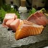 和 あきら - 料理写真:刺身 トロ、サーモン、ブリ