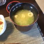 和 - 味噌汁