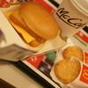 マクドナルド - 料理写真:ダブルフィレオフィッシュセット(クーポンで450円)とハッシュドポテト(120円→クーポンで90円)2016年12月